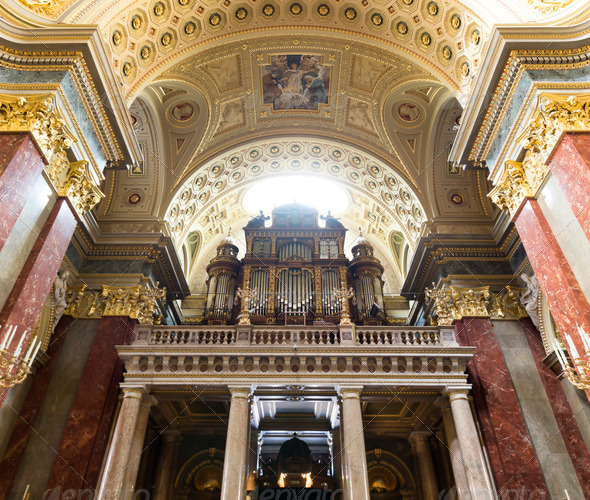 PhotoDune St Stephen s Basilica pipe organ 3653907
