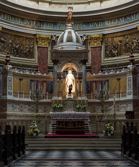 PhotoDune St Stephen s Basilica altar closeup 3653922