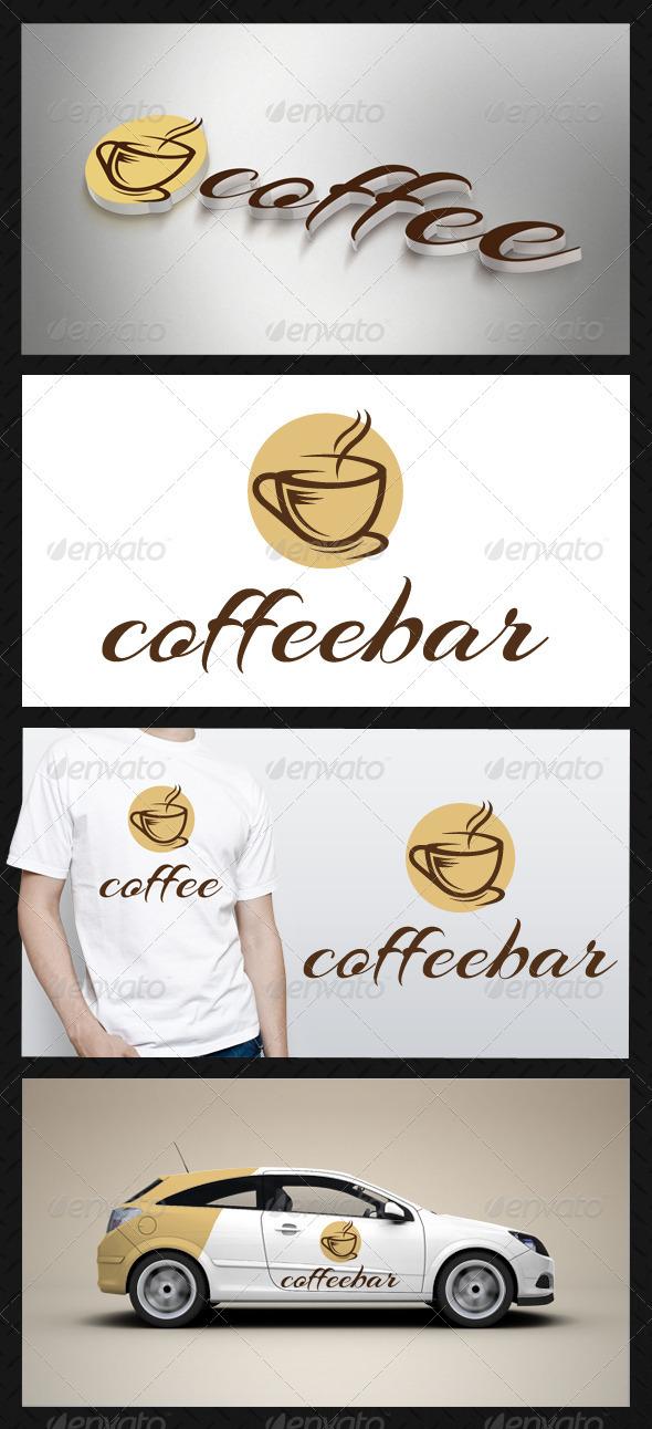 GraphicRiver Coffee Logo Template 3628811