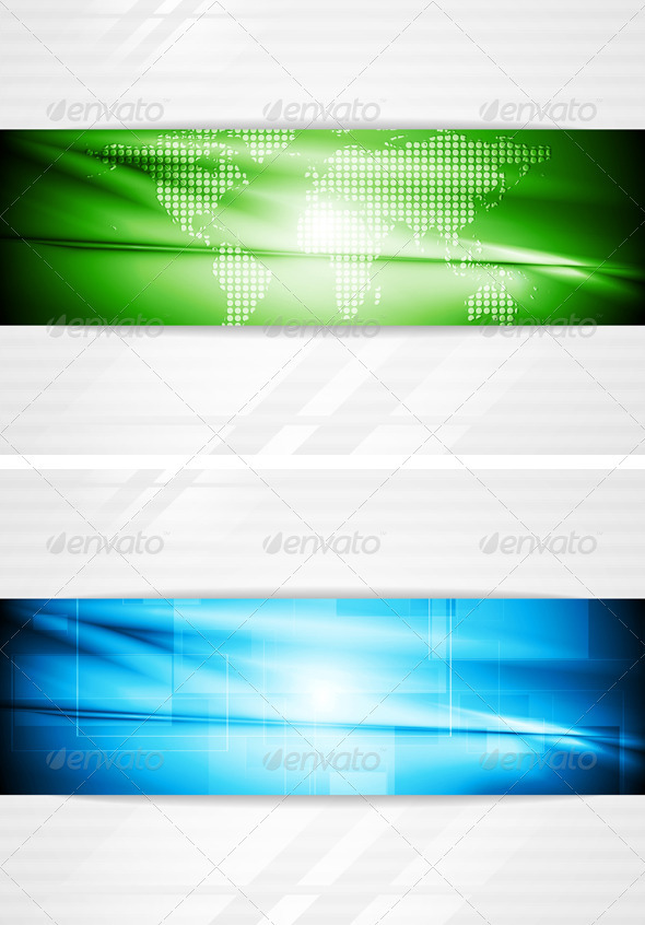 GraphicRiver Modern Tech Business Design 3619050