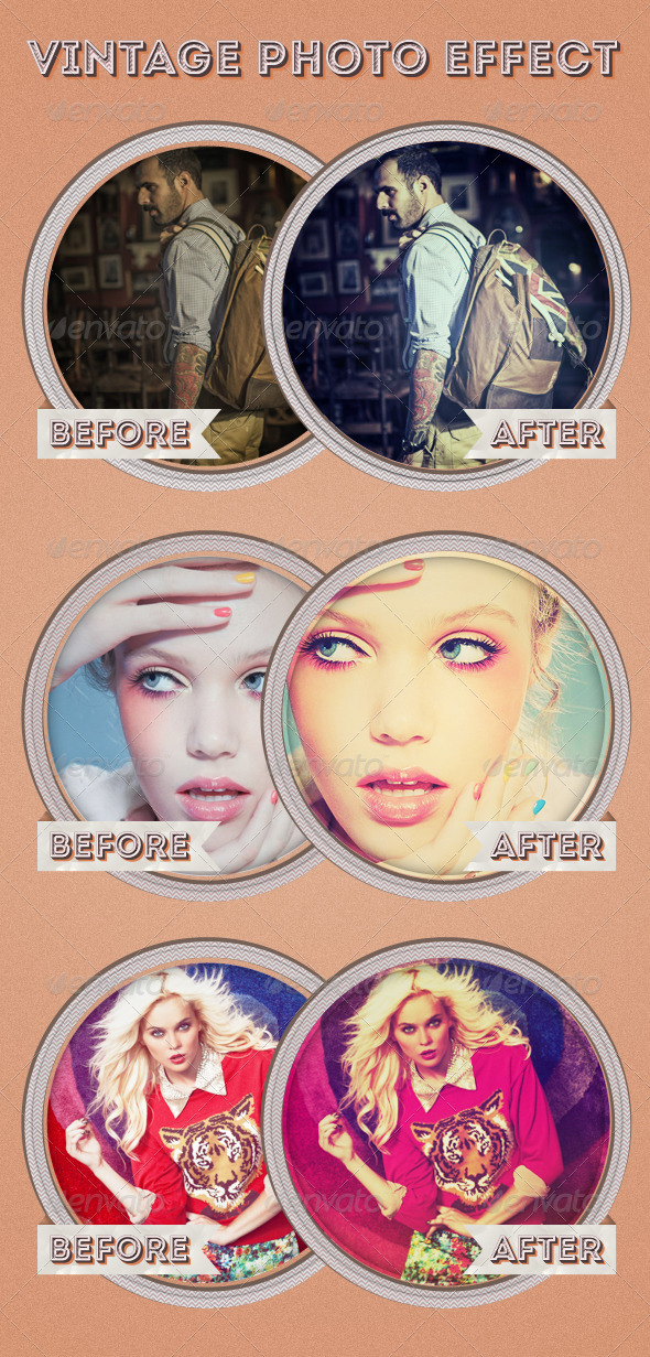 GraphicRiver My Vintage Photo Effect 3654216