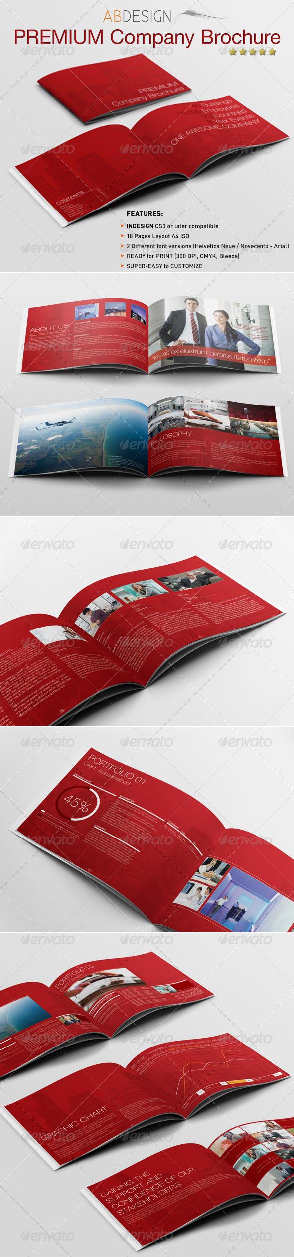 A4 Premium Corporate Brochure - Corporate Brochures