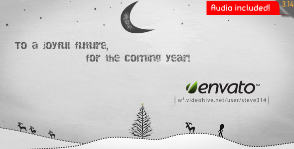 Free Videohive : Inkman presents Xmas & New year\'s Greetings (AE) $15