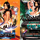 Rave Ultra Party flyer bundle