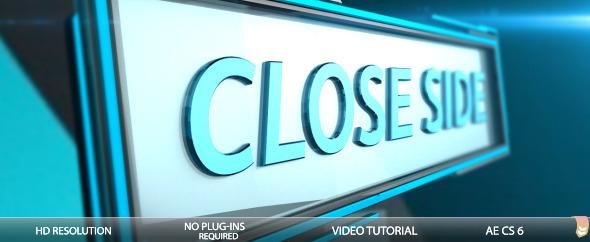 VideoHive Close Side 3654613