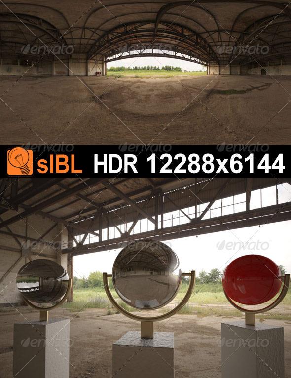 3DOcean HDR 077 Old Hangar sIBL 3655900