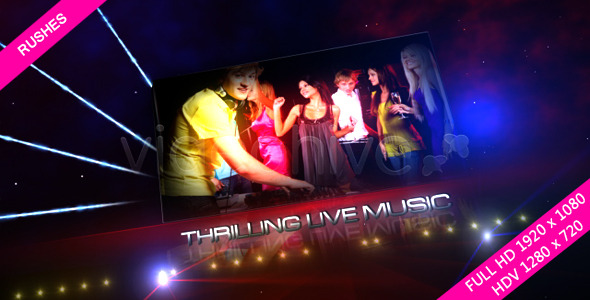 VideoHive Dance Party Floor 3632595