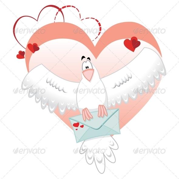 Dove Mail - Valentines Seasons/Holidays