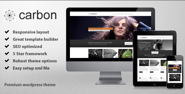 ThemeForest Carbon Responsive Wordpress Theme 3605857