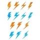 Download Vector Lightning Symbols