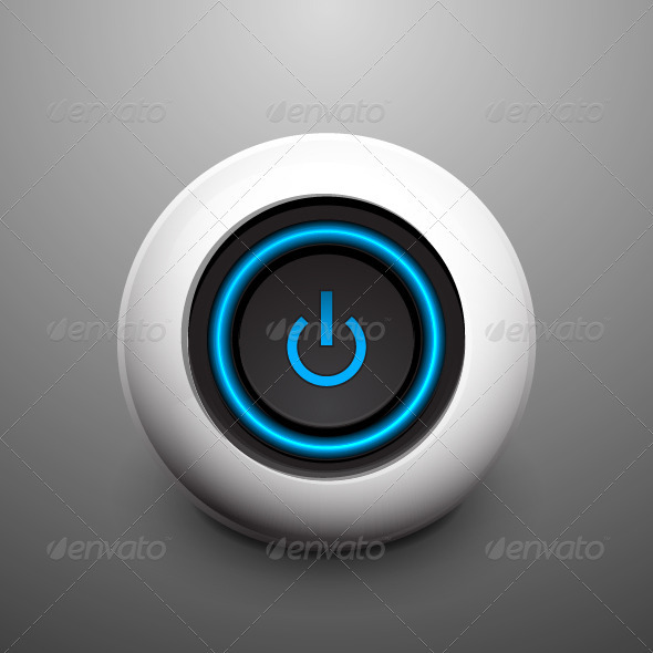 GraphicRiver Vector Power Button 3656342