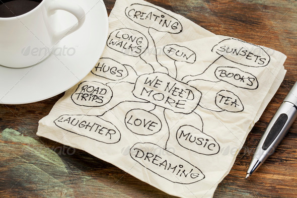 we need more love and dreams - Stock Photo - Images