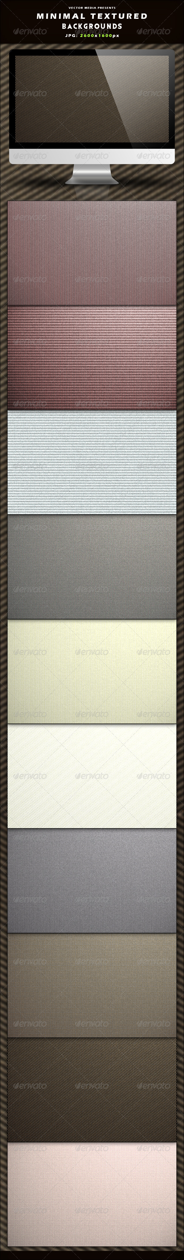 GraphicRiver Minimal Textured Backgrounds 3656461