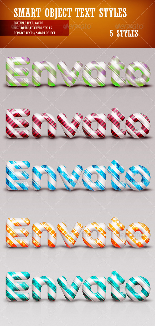 GraphicRiver Smart object Text Styles 3656551