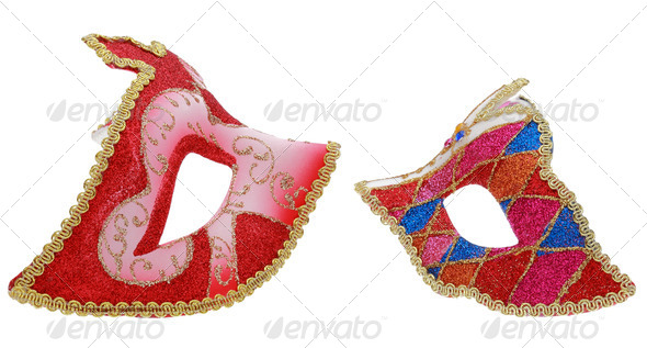 PhotoDune Two Venetian Masks 3665278