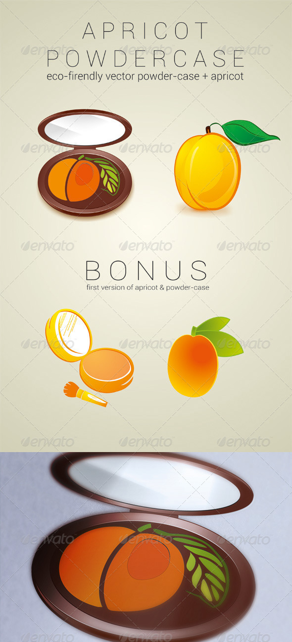 GraphicRiver Apricot Powder Case 3631224