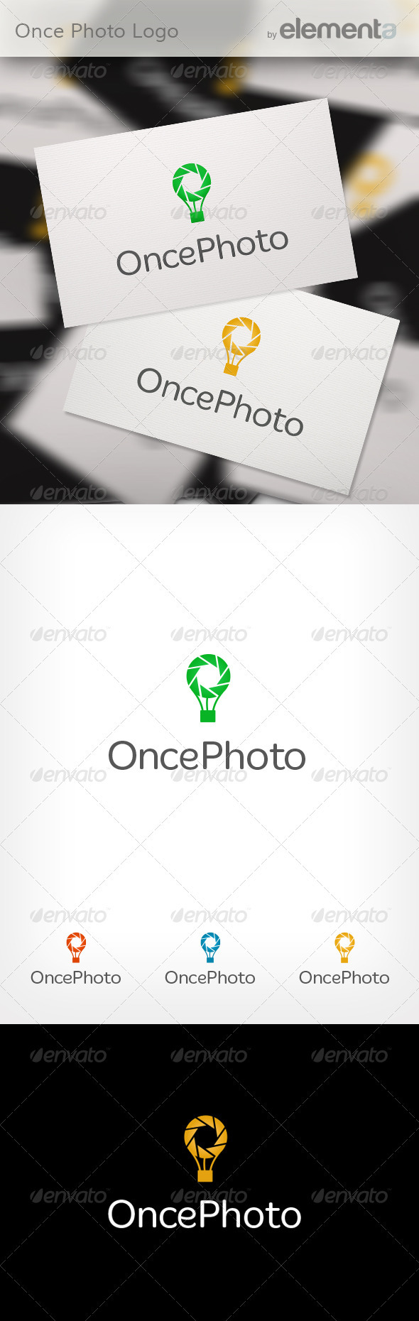 GraphicRiver Once Photo Logo 3595376