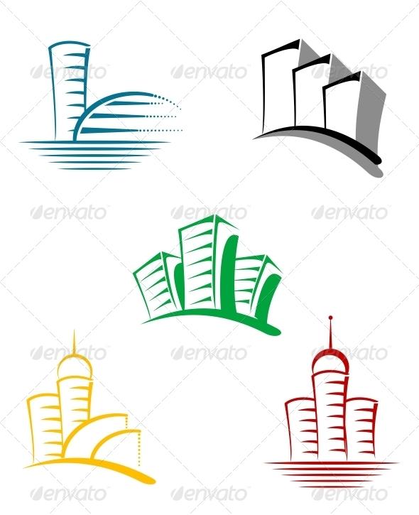 GraphicRiver Real Estate Symbols 3657059
