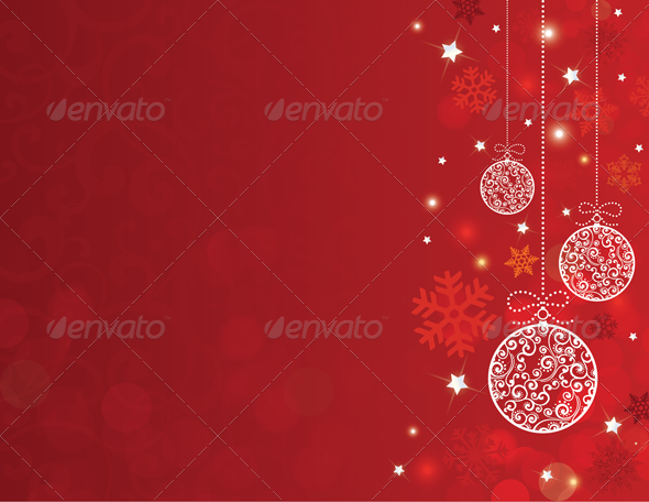 GraphicRiver Christmas Background 3630554