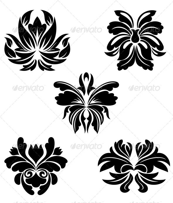 GraphicRiver Flower Symbols 3657129
