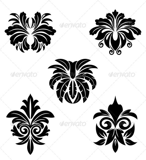 GraphicRiver Flower Symbols 3657130