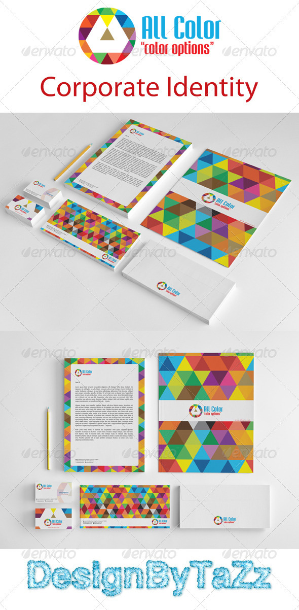 GraphicRiver All Colors Corporate Identity Package 3657131