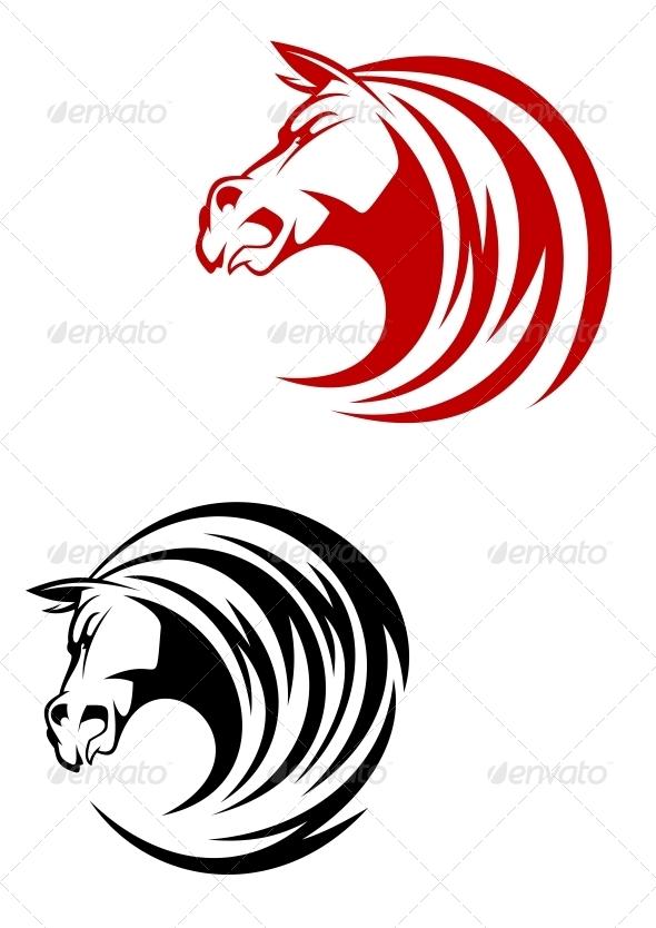 GraphicRiver Horse Mascot 3657133