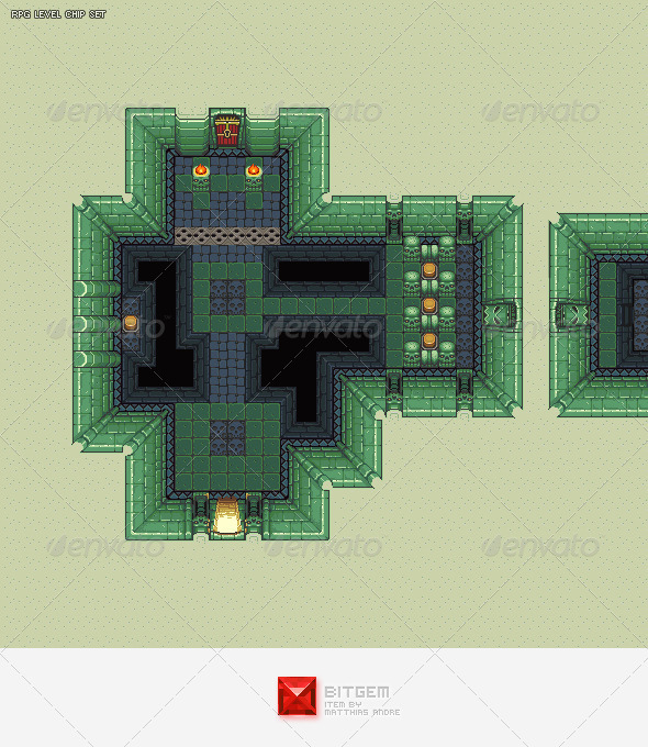 GraphicRiver RPG Dungeon Level Chip Set 02 3657247