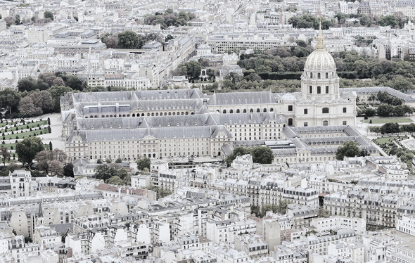 Les Invalides, Paris France - Stock Photo - Images