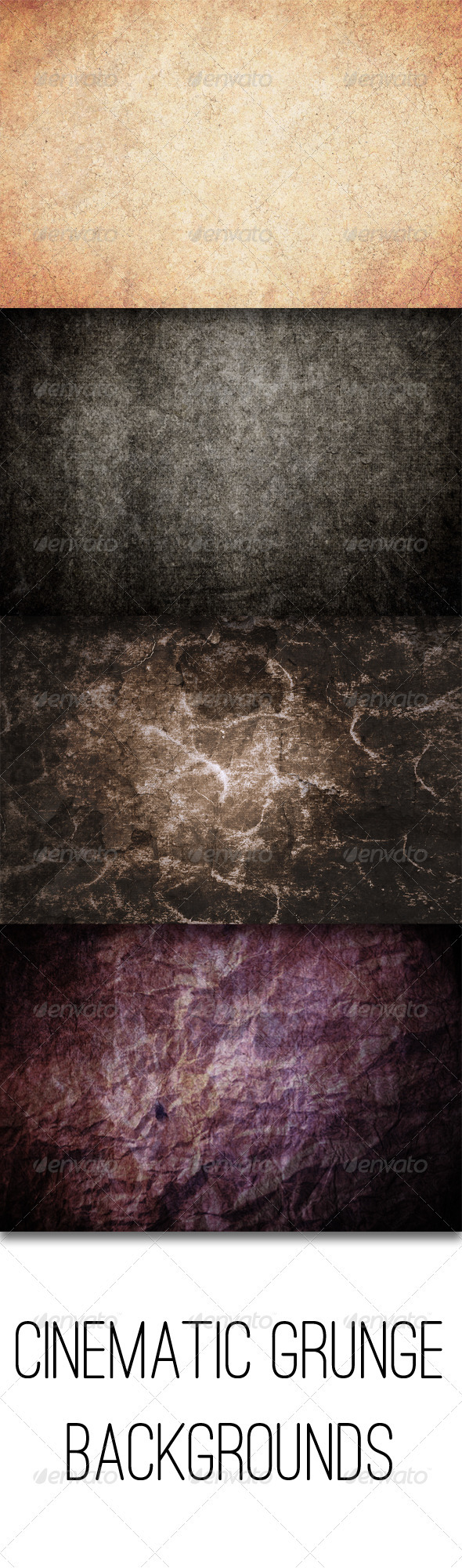 GraphicRiver Cinematic Grunge Backgrounds 3659614