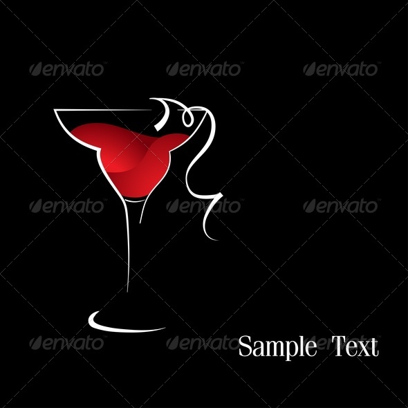 GraphicRiver Red Wine 3659674