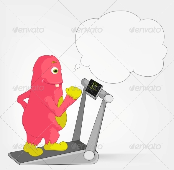 GraphicRiver Funny Monster Gym 3660702