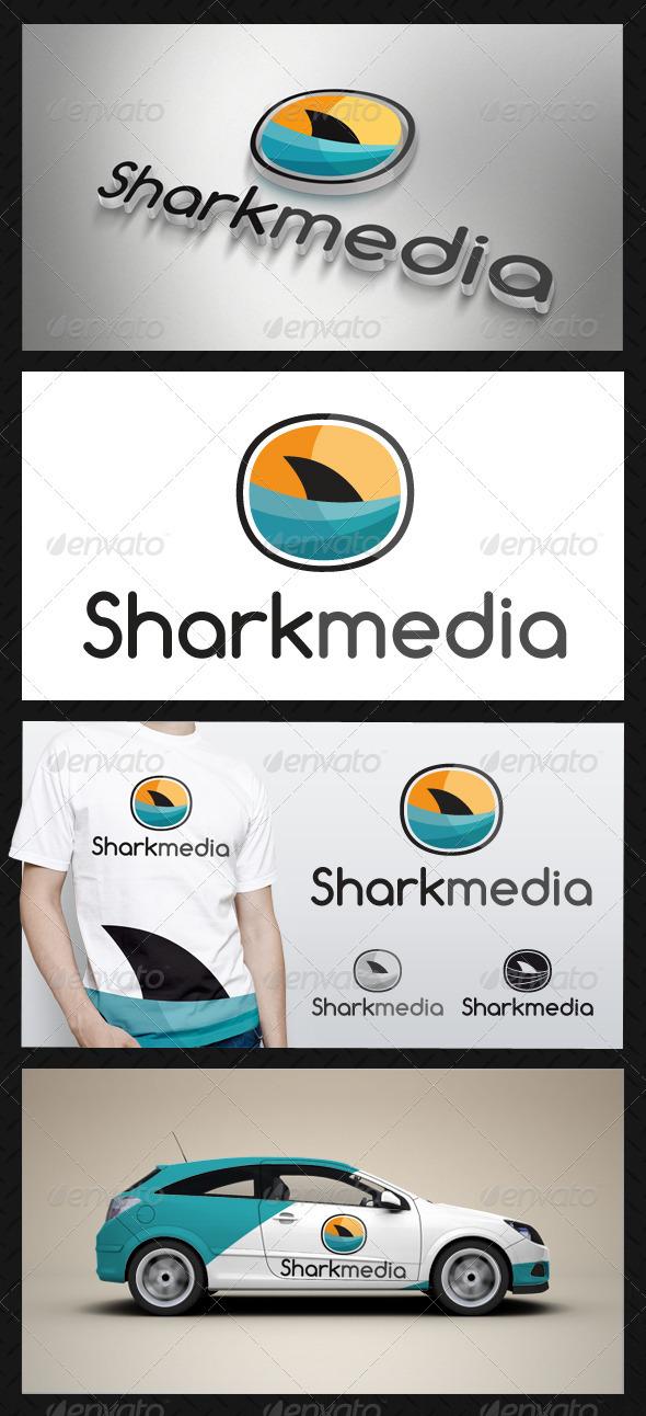 GraphicRiver Shark Media Logo 3660837
