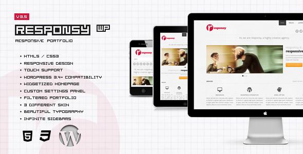 ThemeForest Responsy WP Responsive HTML5 Portfolio 2290361