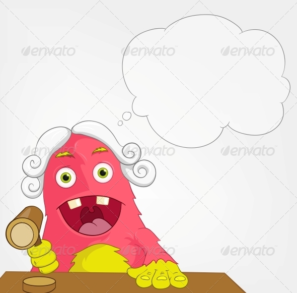 GraphicRiver Funny Monster Judge 3661188