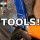 Mechanical Tools GUI Interface - AudioJungle Item for Sale