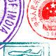 Download Vector High Detail Vector Passport Stamps Set