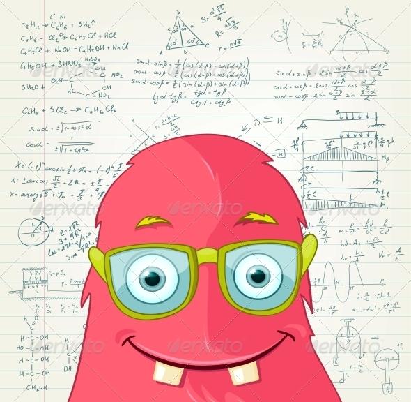 GraphicRiver Monster Professor 3661389