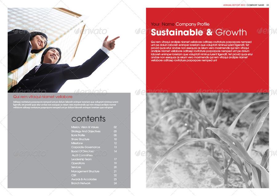 Doc680400 Annual Report Template Design Annual Report – Annual Report Template Design
