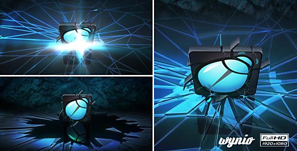 VideoHive Dark Crack Logo 3663208