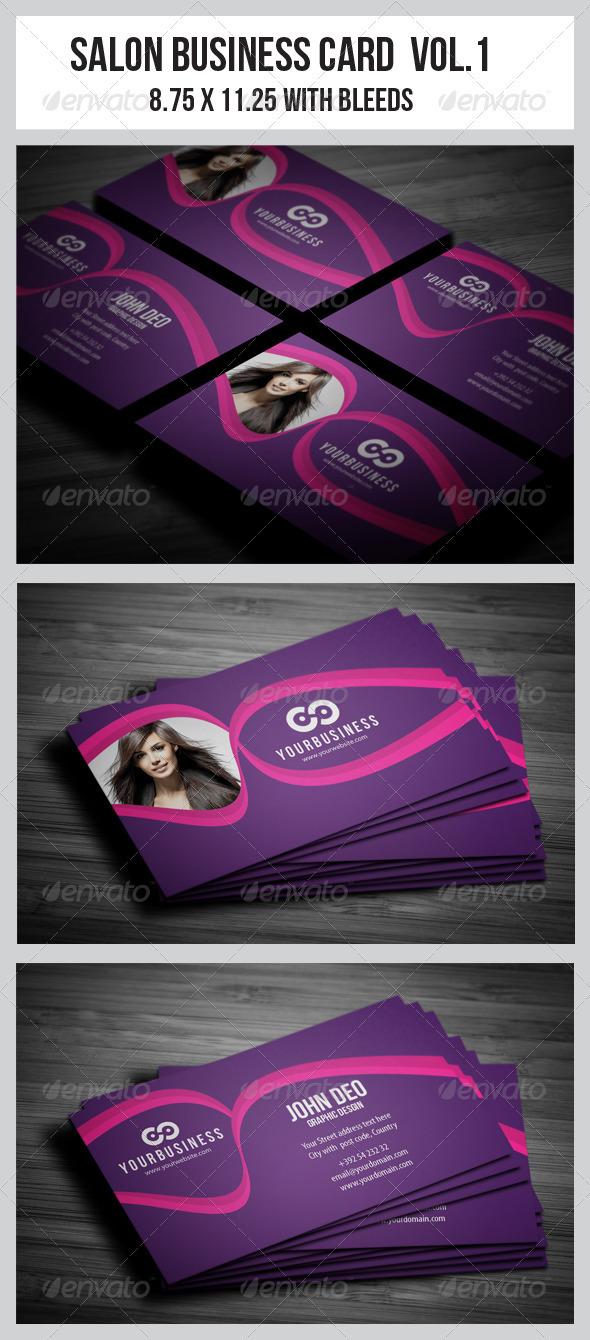 GraphicRiver Salon Business Card Vol.1 3663881