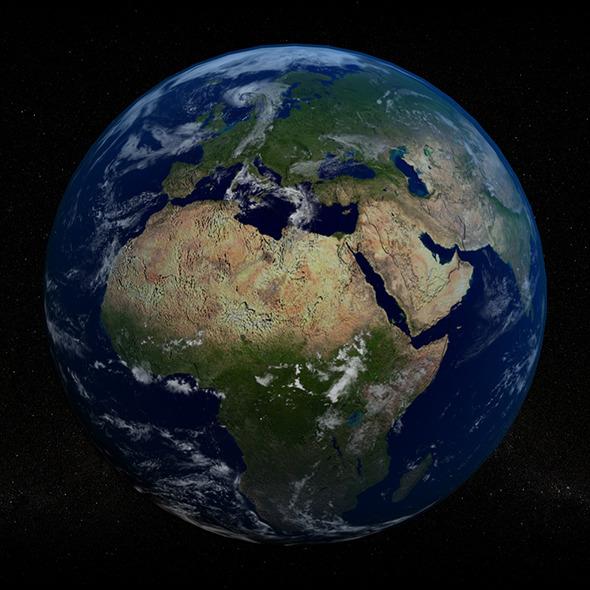 3DOcean Planet Earth 3663883