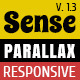 Sense - One-Page Parallax HTML5 & CSS3 Template - ThemeForest Item for Sale