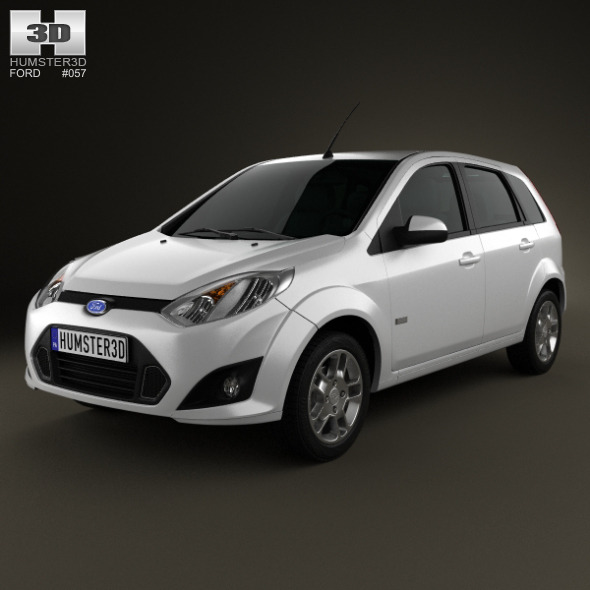 Ford Fiesta Rocam hatchback (Brazil) 2012 - 3DOcean Item for Sale