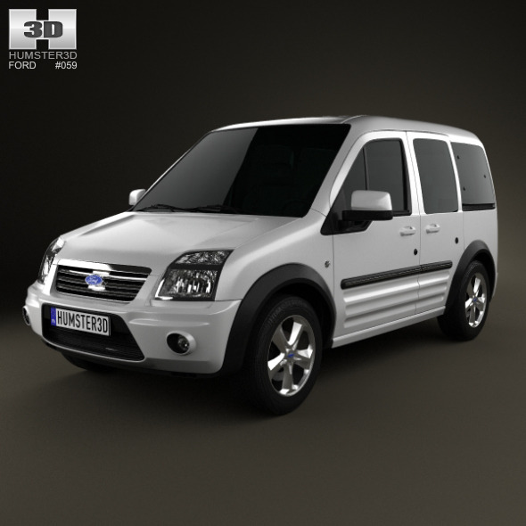 Ford Tourneo Connect SWB 2012 - 3DOcean Item for Sale