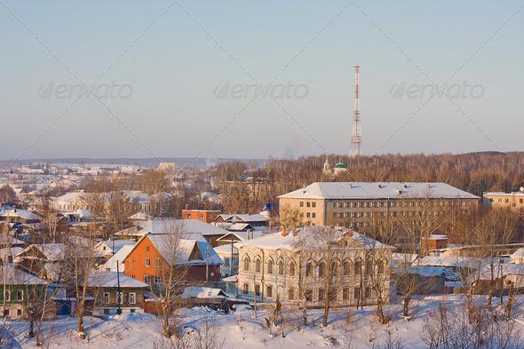 PhotoDune winter landscape 3664947