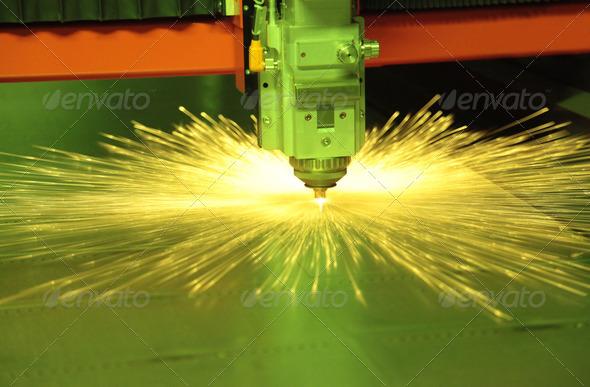 PhotoDune Laser Cutting Metal 3665133
