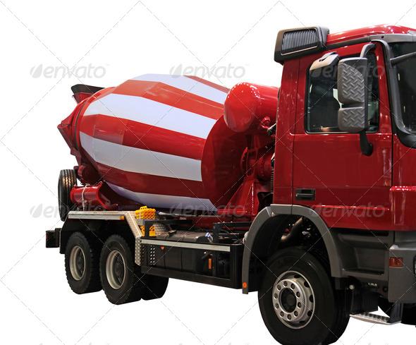 PhotoDune Cement Mixer Truck 3665148