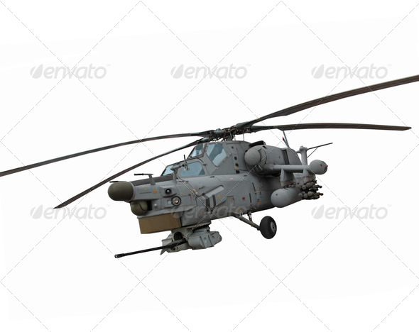 PhotoDune Mi-28 Helicopter 3665143