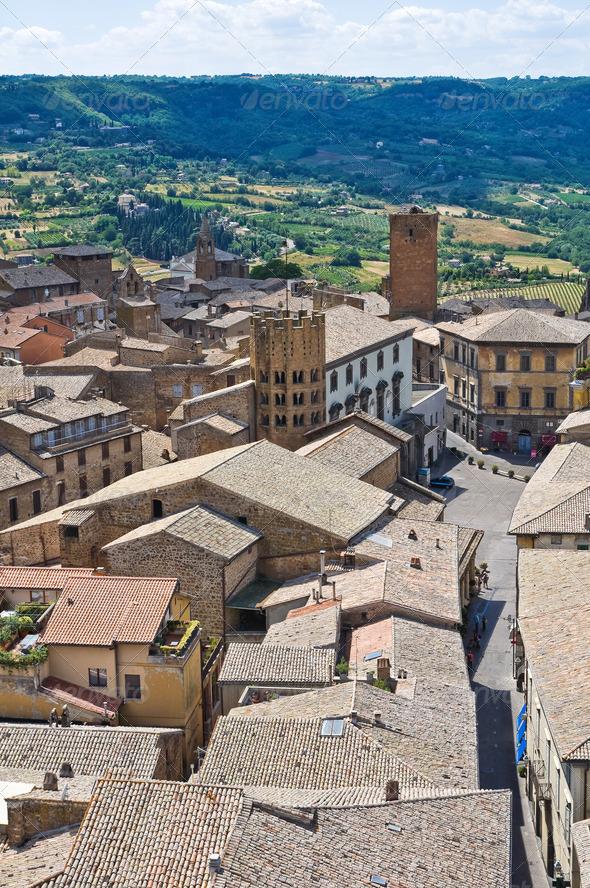 PhotoDune Panoramic view of Orvieto Umbria Italy 3665465